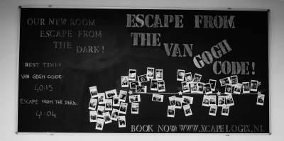 Dit is een impressie van de snelste tijden bij Xcape Logix Escape Room Nijmegen
